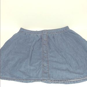 Jean skirt size medium
